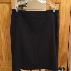 Black pencil skirt, Liz Claiborne, size 14